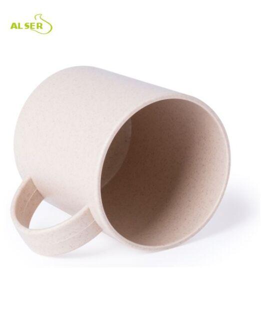 Mug nature. Taza publicitaria fabricado en fibra natural de bambú