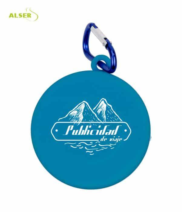 Vaso Plegable Publicitario Azul