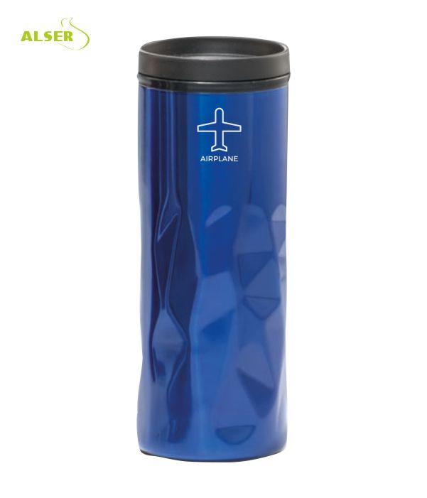 Vaso Publicitario de Acero. Azul