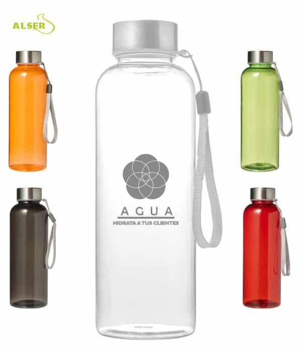 Botella Translucida Personalizada ALZOLA