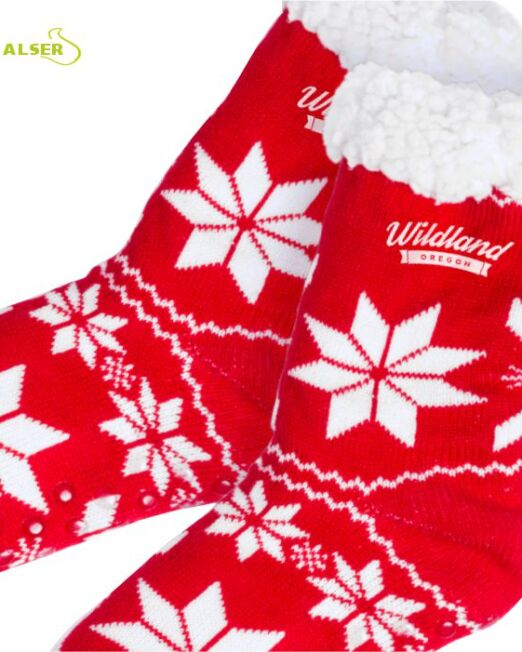 Calcetines Navidad Publicitarios. Regalos de Empresa Alser