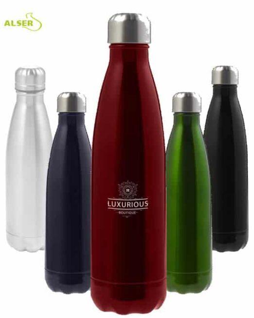 Botella de Acero Inoxidable para publicidad colores