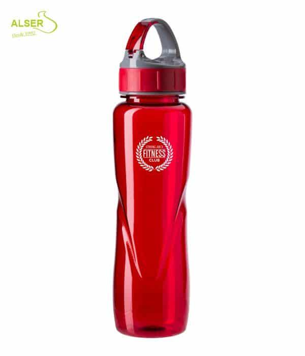 Bidón Deportivo para Publicidad >> Bidones Personalizados. Color Rojo
