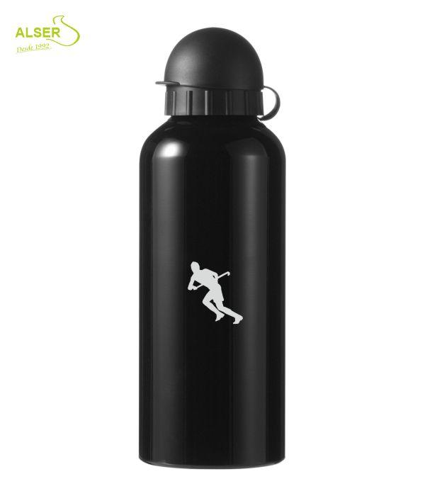 Bidón en aluminio anonizado para publicidad negro