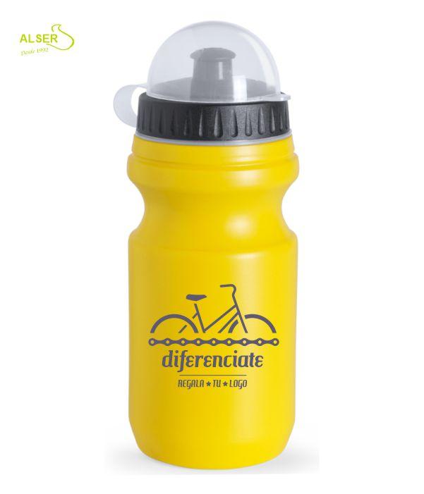 Bidón ciclismo personalizado Amarillo