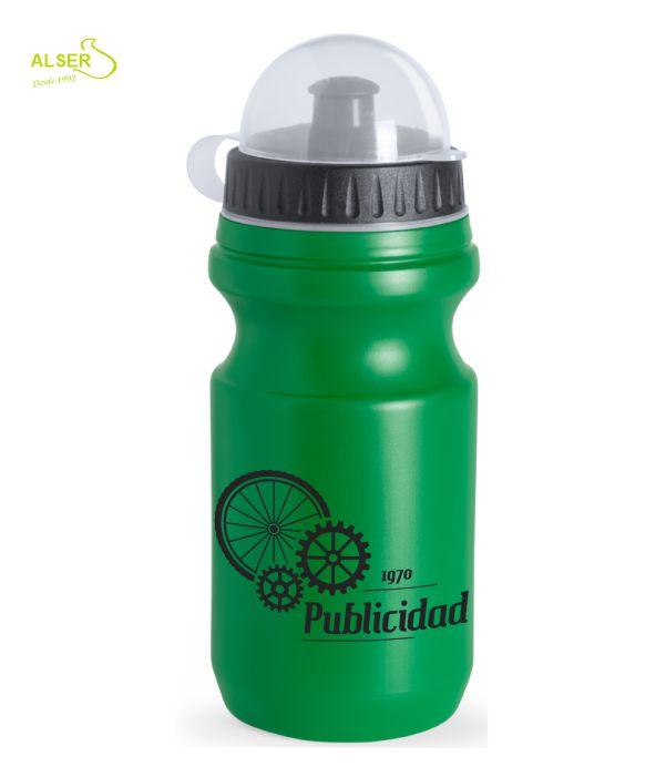 Bidón ciclismo personalizado Verde
