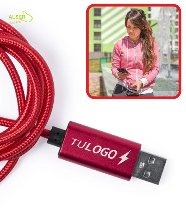 Cable cargador tipo-C 100 cm VALTIS