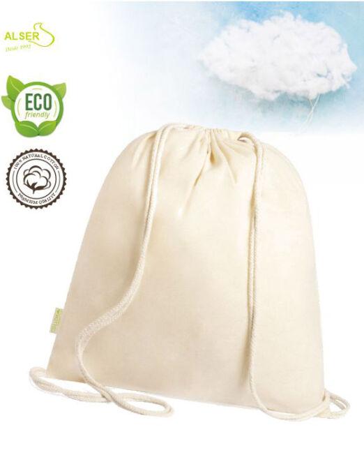 Bolsa saco de algodon organico para personalizar