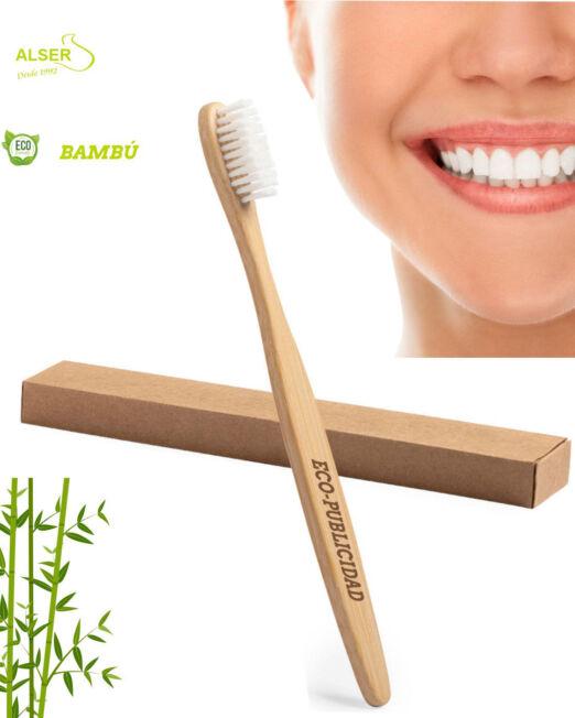 cepillo de dientes de bambu para promociones