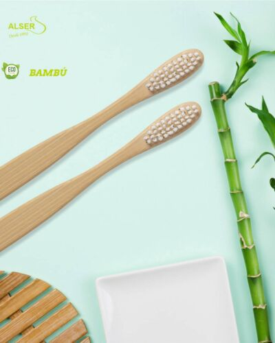 Cepillo de dientes bambu personalizado CIA