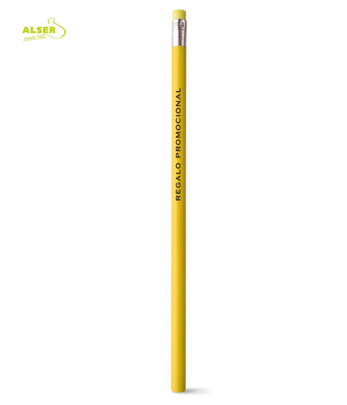 Lapiz publicitario para personalizar Amarillo