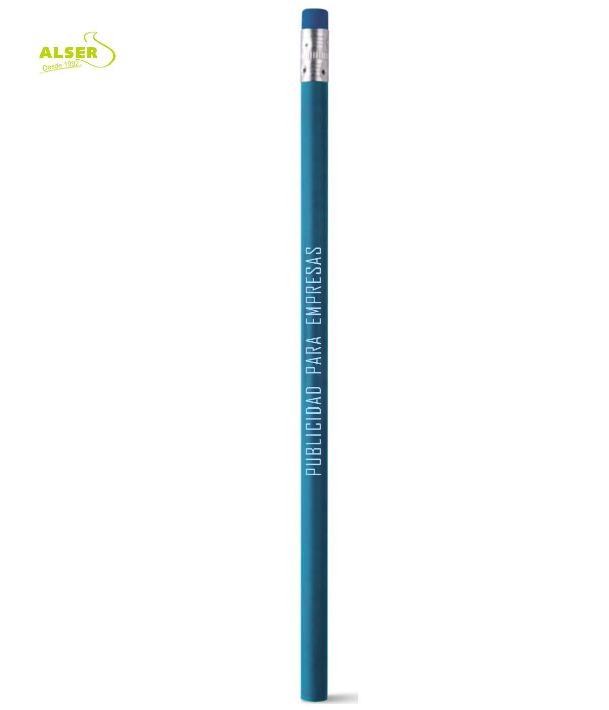 Lapiz publicitario para personalizar Azul