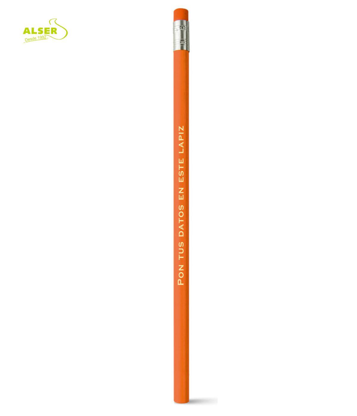 Lapiz publicitario para personalizar Naranja