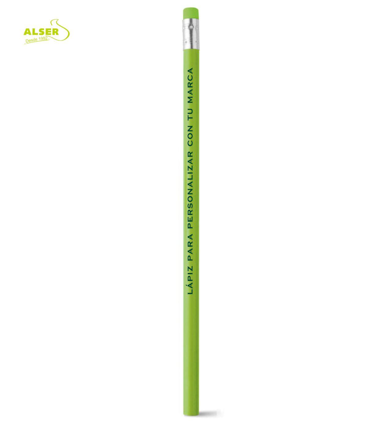 Lapiz publicitario para personalizar Verde Claro