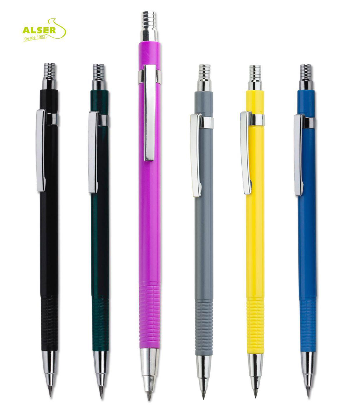 Portaminas Corporativo para publicidad. Colores
