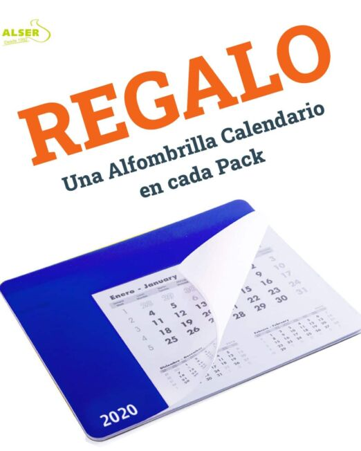 Pack fundamental de teletrabajo. Alfombrilla