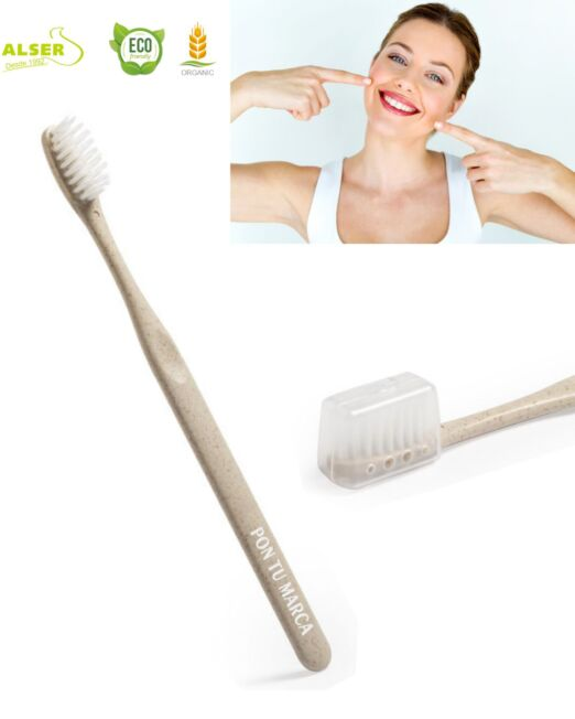 Cepillo dientes ecologico personalizado para empresas