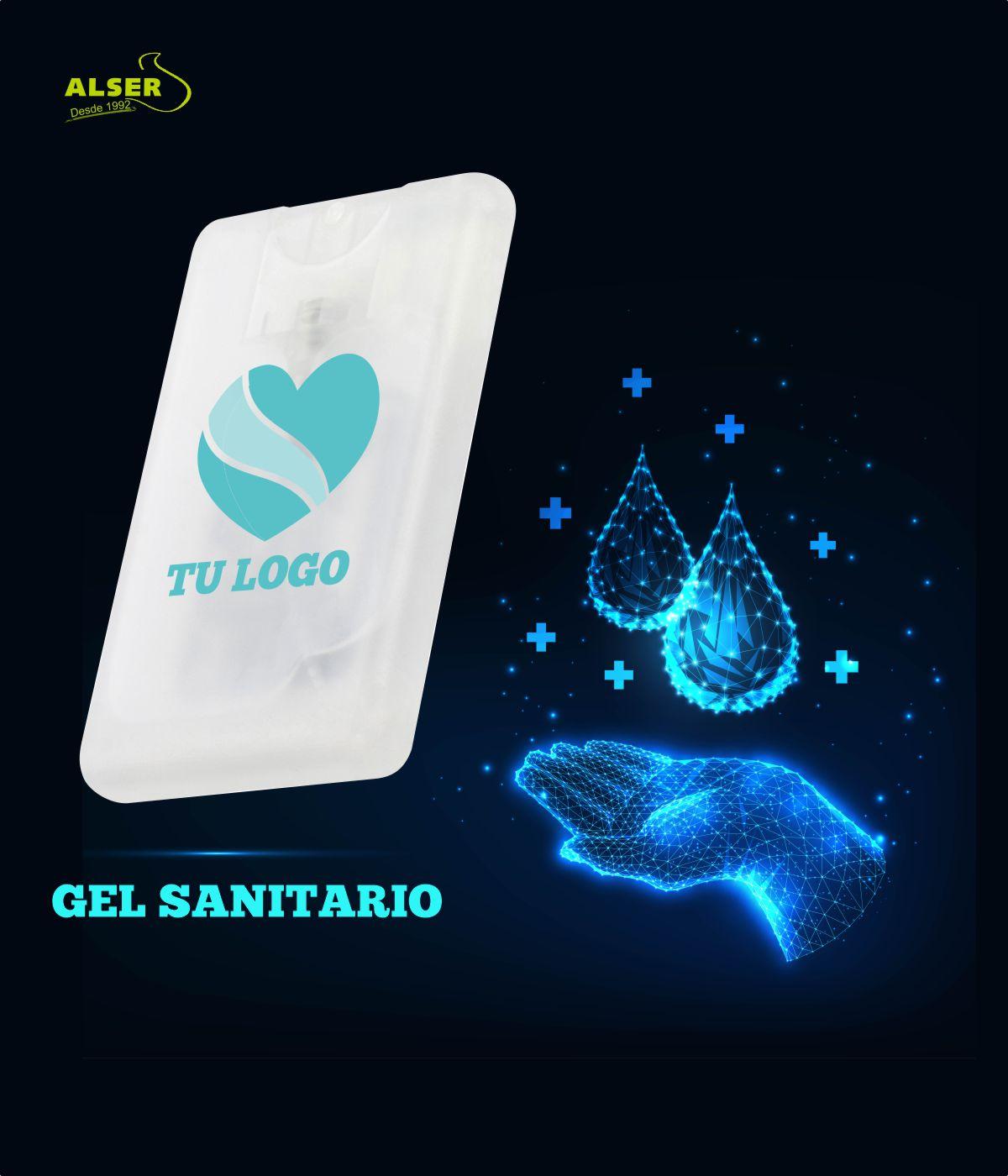 Gel Desinfectante Personalizado para publicidad de empresa