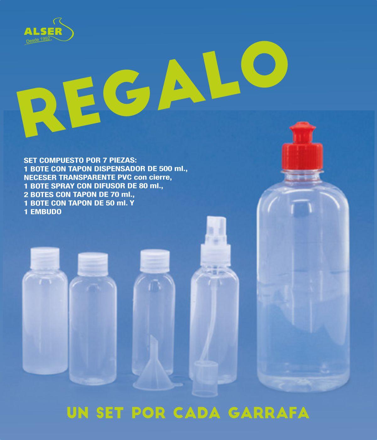 Gel de manos higienizante garrafa 5 L.