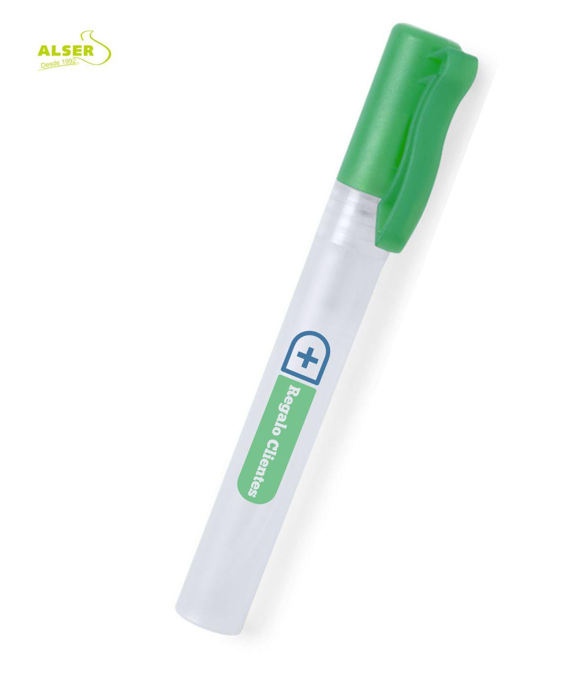 Gel de manos promocional Verde