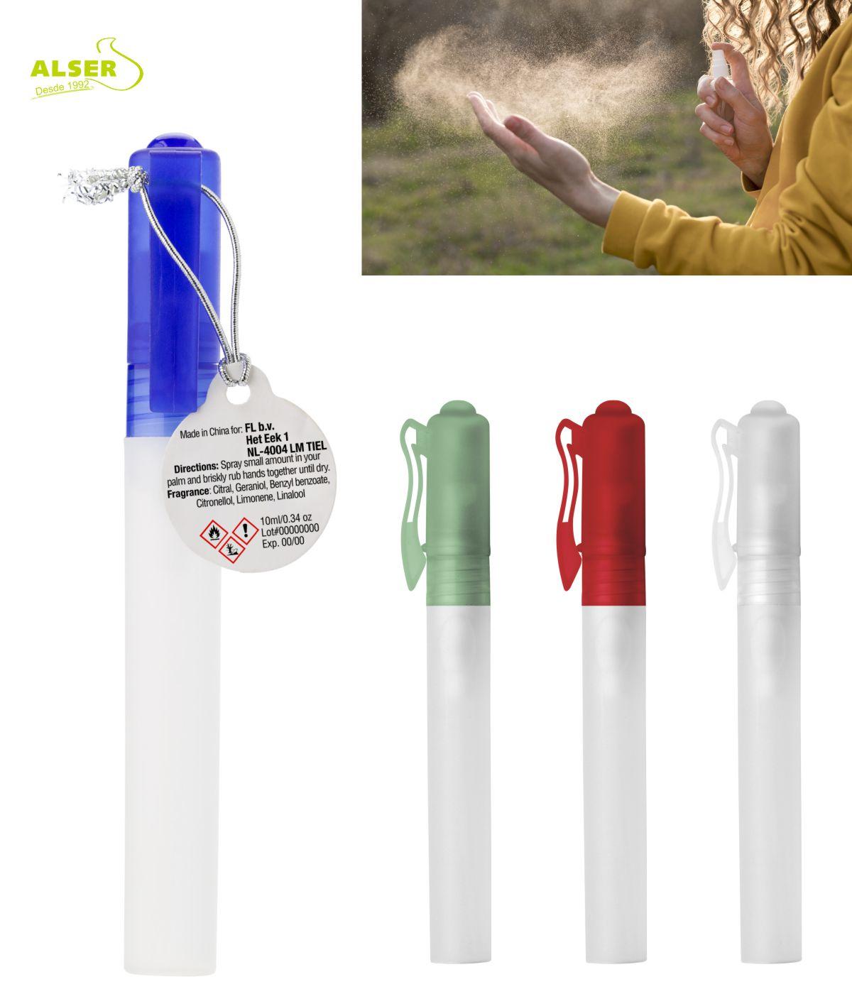 Gel de manos promocional Colores