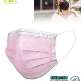Mascarilla higienica rosa