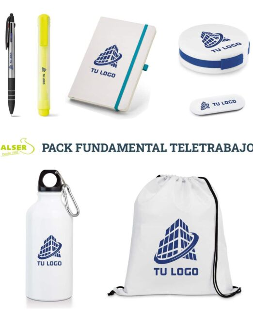 Pack fundamental de teletrabajo.