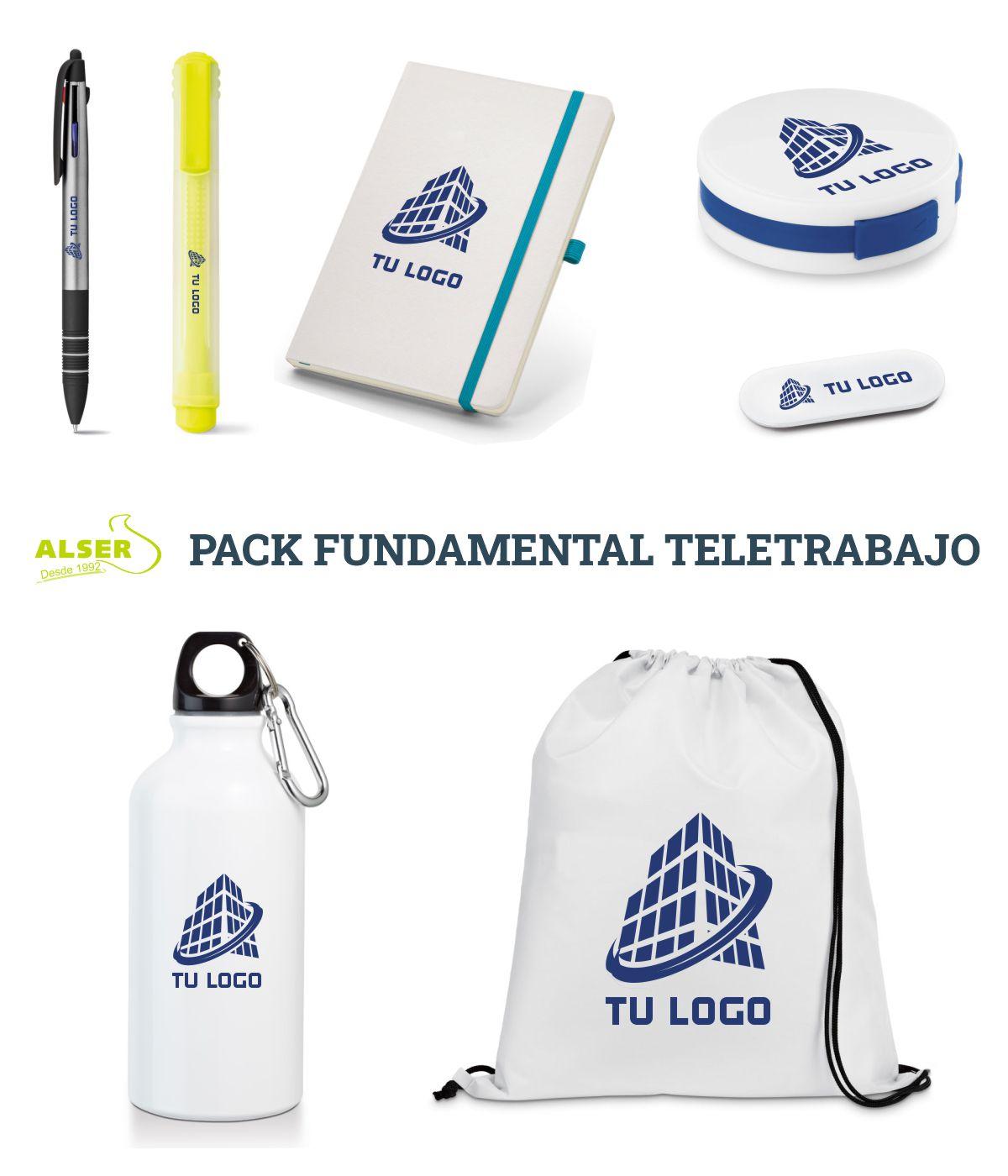 Pack fundamental de teletrabajo.