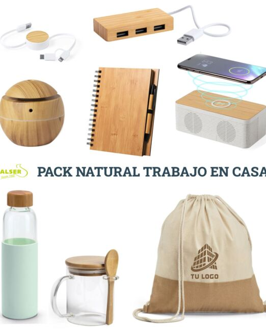 Pack natural Trabajo en casa