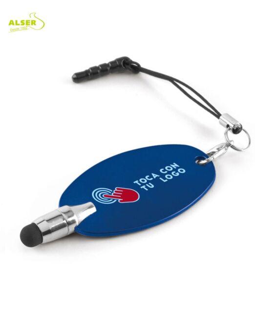 Puntero touch movil personalizado para empresas. Azul