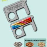 Abre puertas antimicrobiano Llavero higiénico frente COVID-19