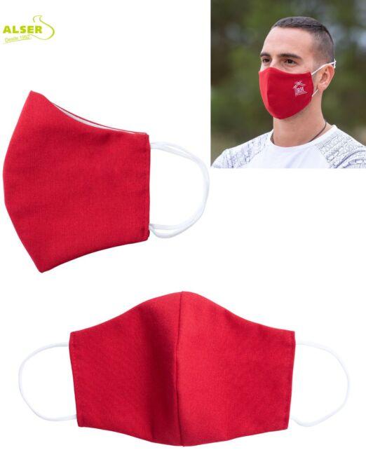 Mascarilla reutilizable con logo Roja