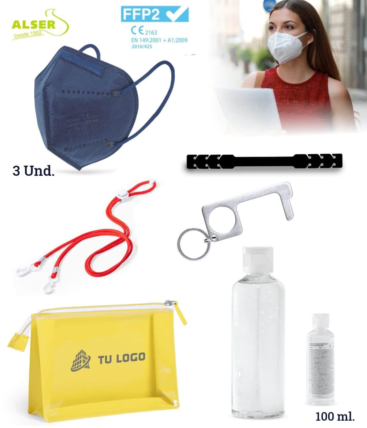 Set higiénico para trabajadores