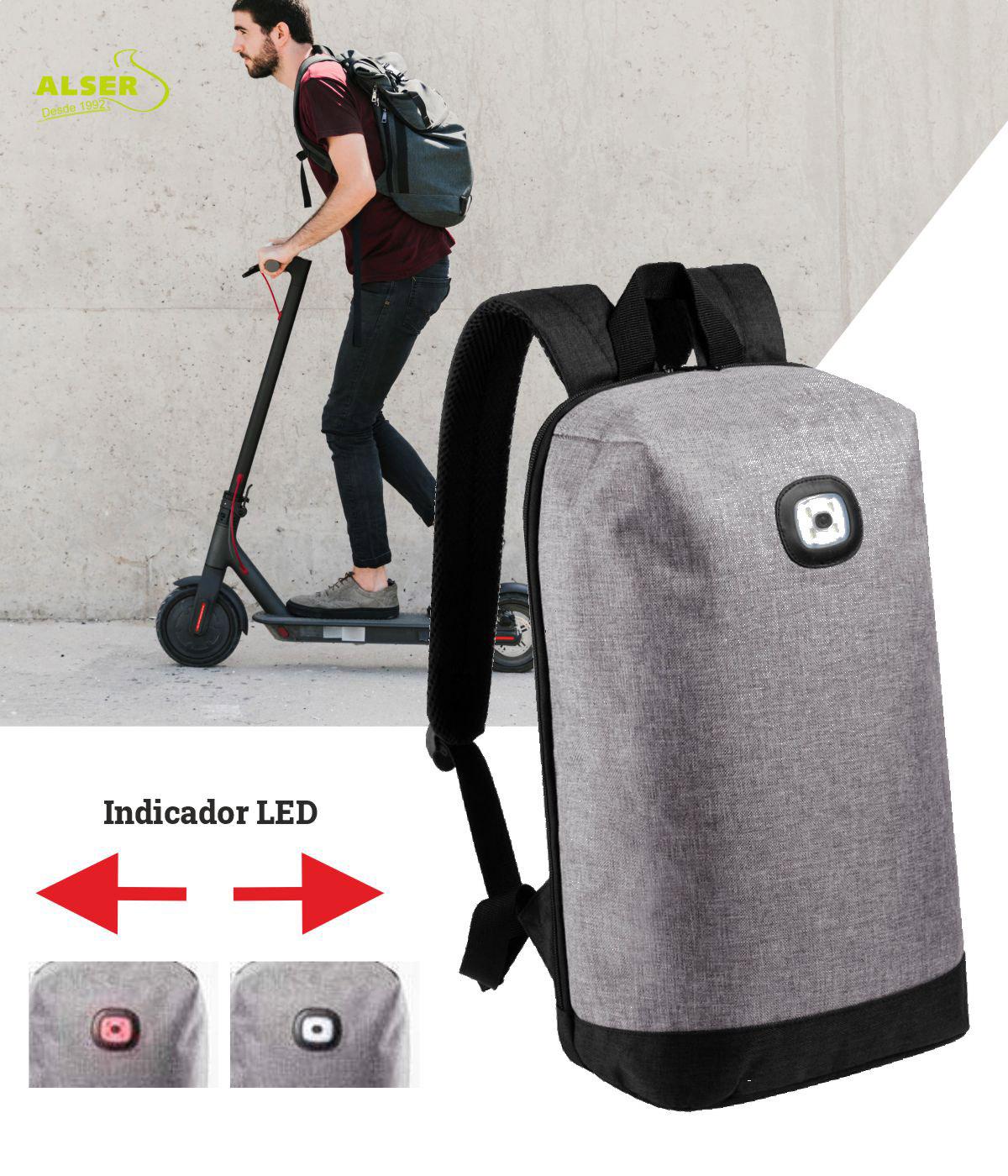 mochila movilidad led