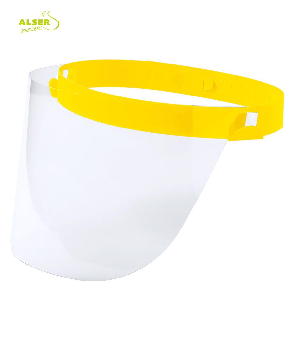 pantalla de proteccion para niños. Amarilla