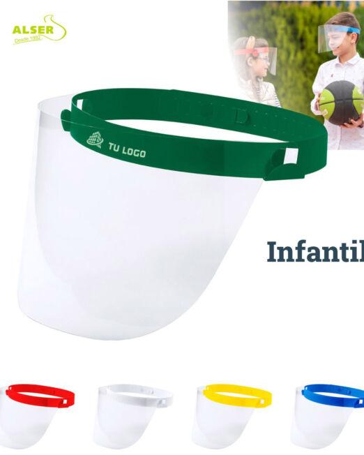 pantalla de proteccion para niños. Colores