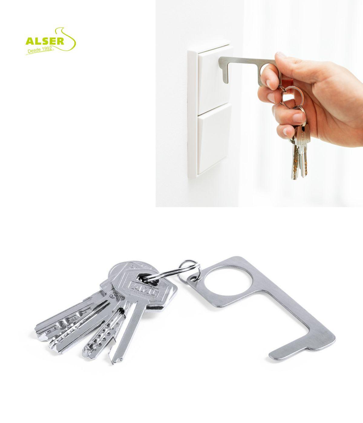 Llavero de proteccion anti-contacto con llaves