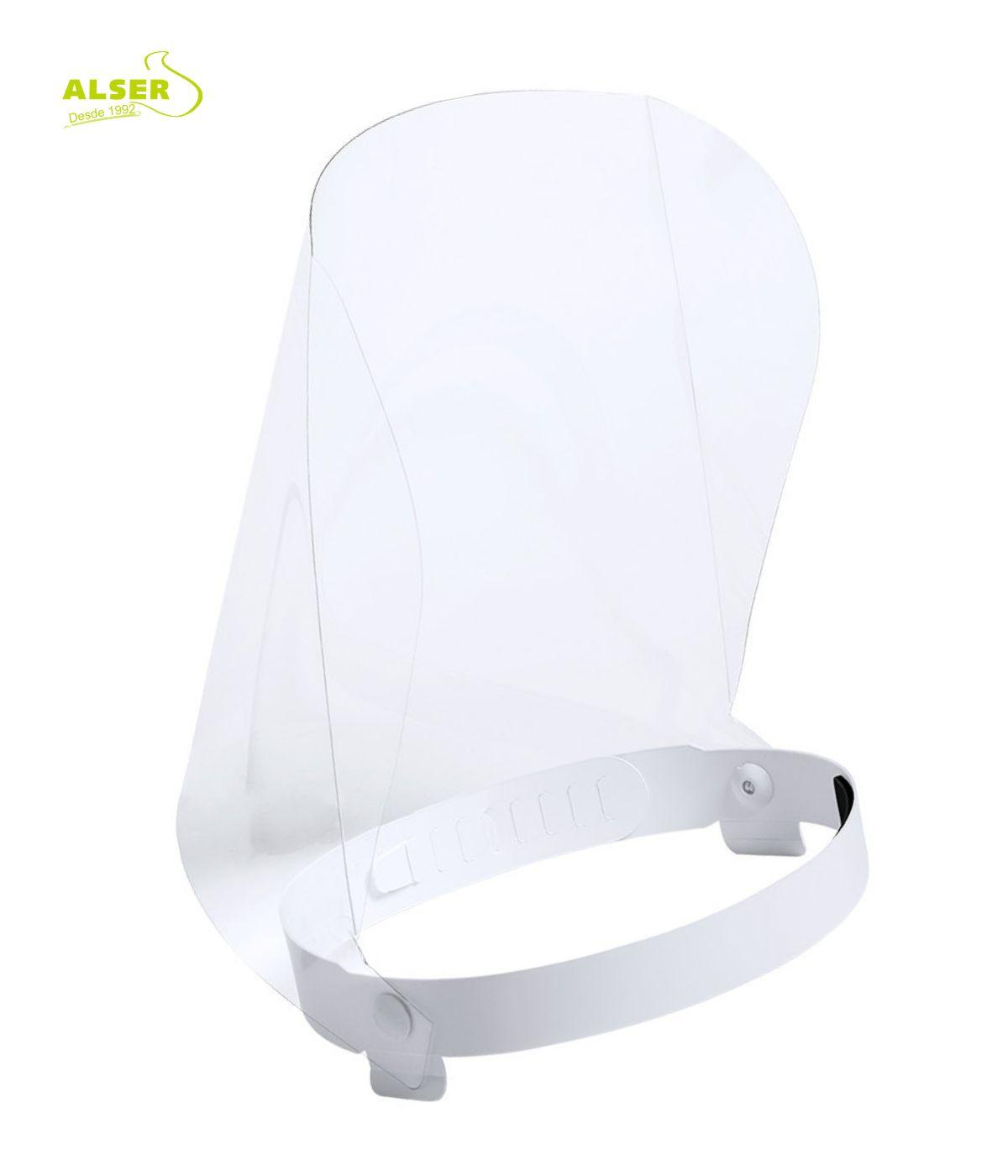 Pantalla proteccion facial corporativa parte inferior