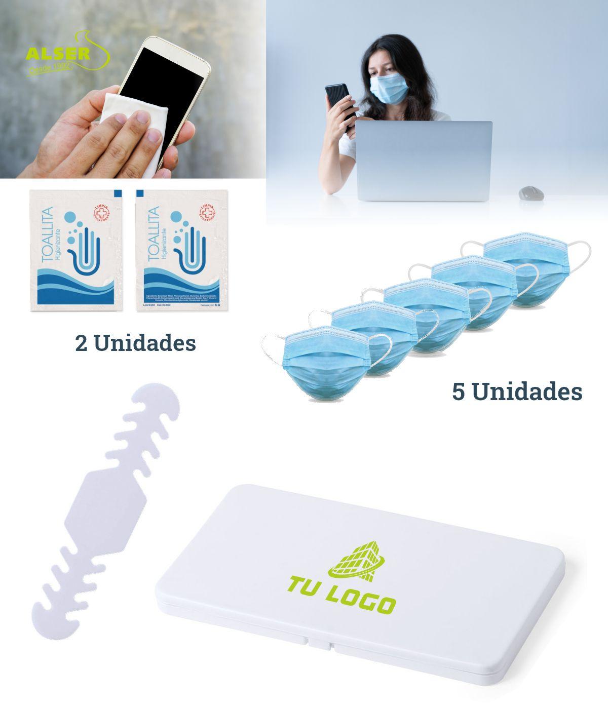 productos higiénicos en set corporativo higiénico