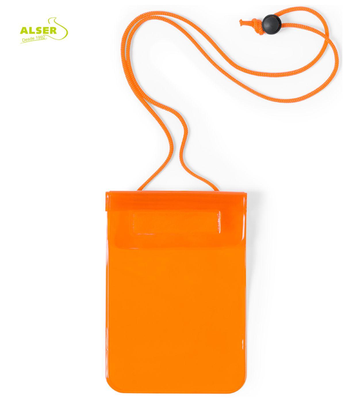 Guarda mascarillas impermeable Naranja