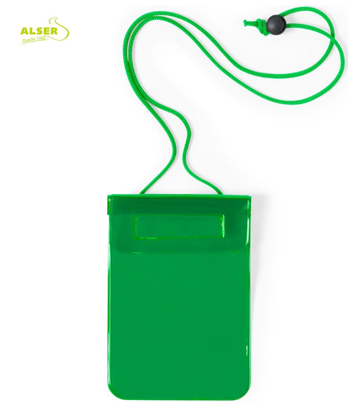 Guarda mascarillas impermeable Verde