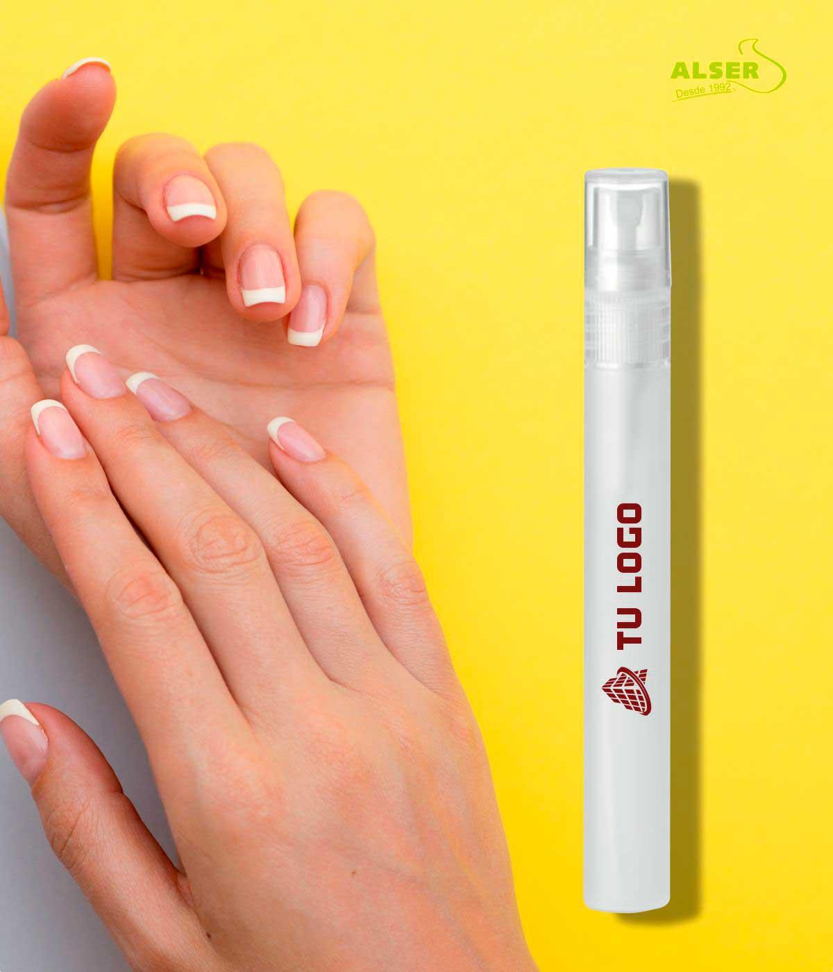 spray de manos desinfectante para personalizar