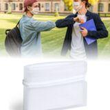 portamascarillas de bolsillo Transparente