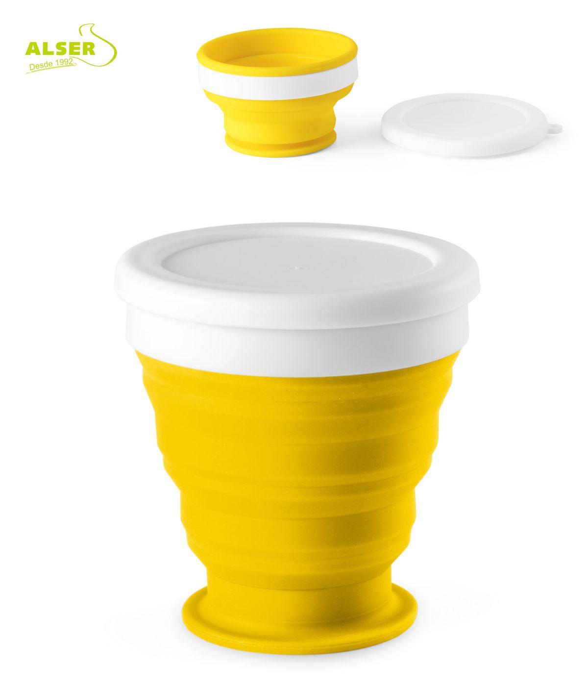 aso plegable de silicona Amarillo