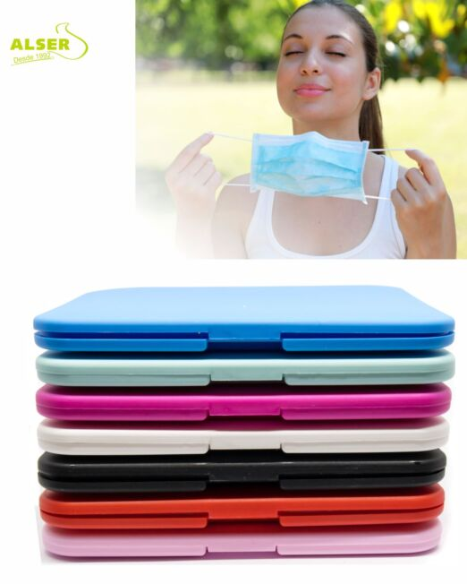 Estuches porta mascarillas ffp2 colores