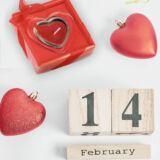 Vela corazon rojo personalizable