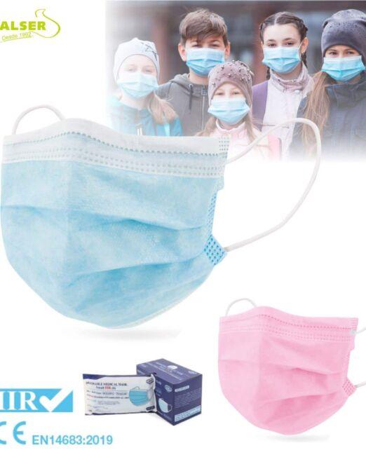 Mascarilla infantil quirúrgica IIR
