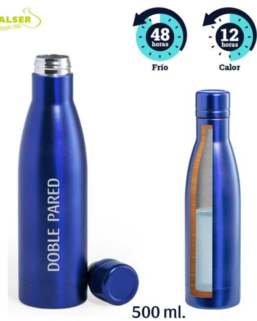 Botella doble pared personalizada