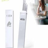 Caja 5 lápices blanco o plata