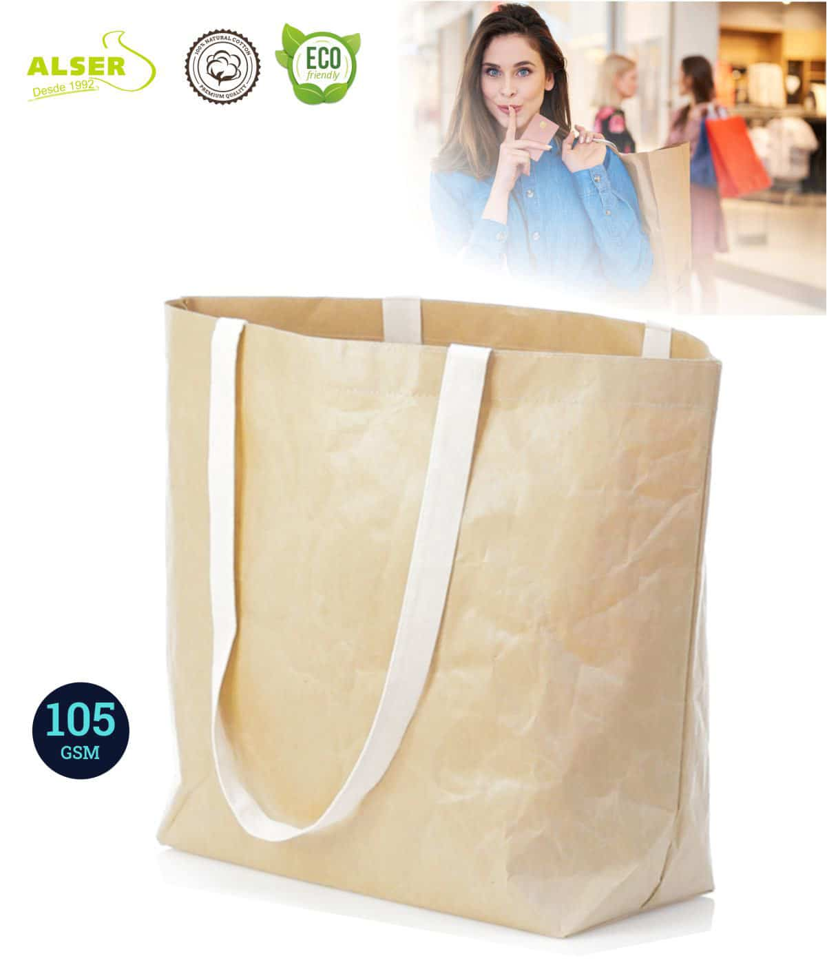 Bolsa de papel laminado